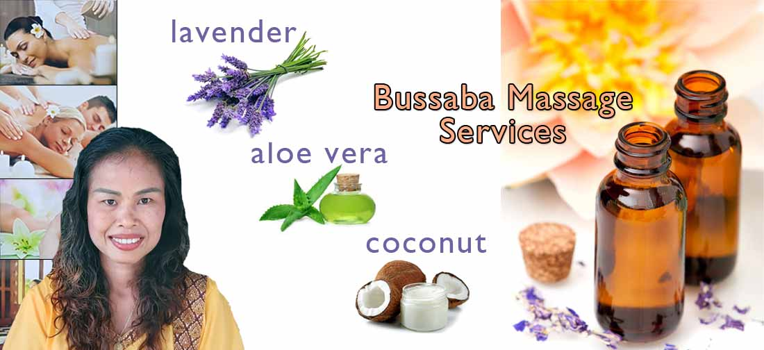 Bussaba Massage Khao Lak - Services
