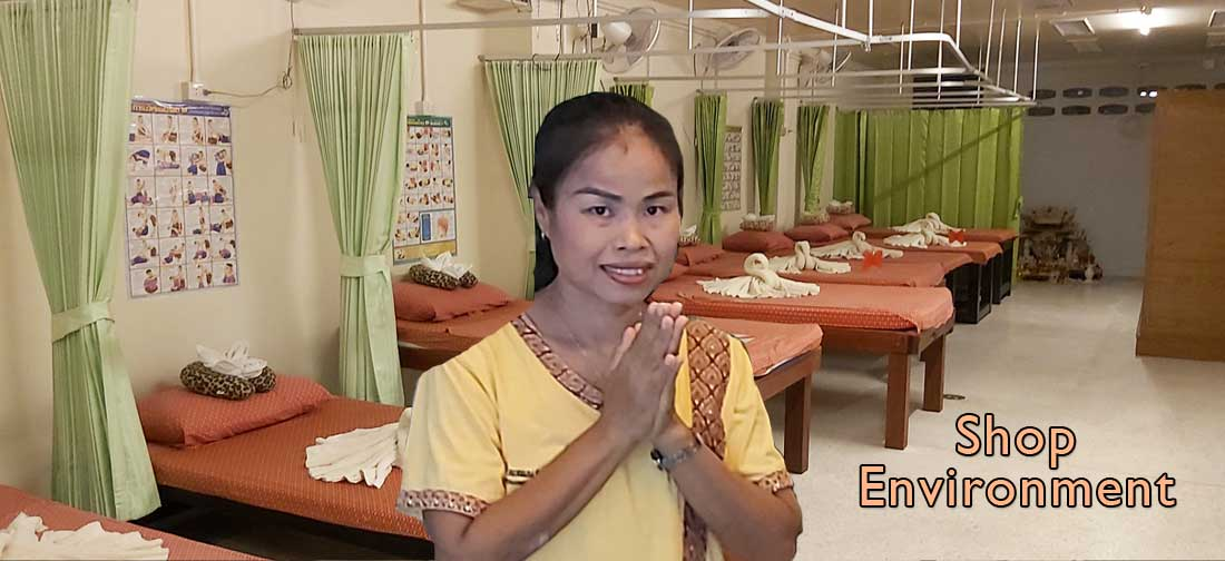 Bussaba Massage Khao Lak - Shop Environment