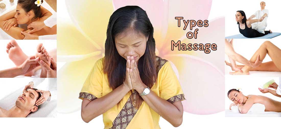 Bussaba Massage Khao Lak - Types of Massage